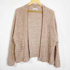 Urban Outfitters Velvet Knit Open Front Cardigan S